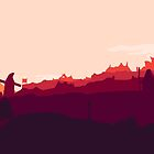 Whiterun Skyrim by tinkertota