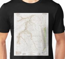 USGS TOPO Map Arizona AZ Bitter Springs 310483 1985 24000 Unisex T-Shirt