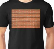 Bricks Wall Unisex T-Shirt