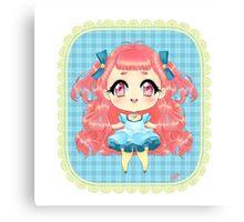 Lollipop Chibi Canvas Print