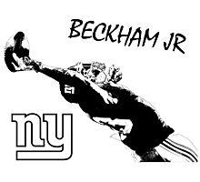 Odell Beckham Jr - New York Giants - NFL Photographic Print