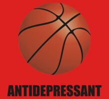 Antidepressant Basketball One Piece - Short Sleeve