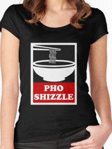 Pho Shizzle Women's Fitted Scoop T-Shirt