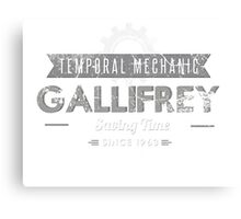 Temporal Mechanic Canvas Print