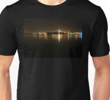 San Diego Navy Harbor Night Unisex T-Shirt