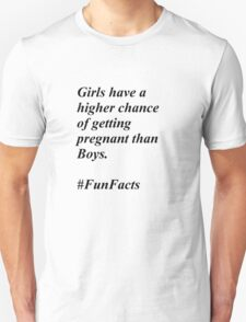 Fun Facts #1 Unisex T-Shirt