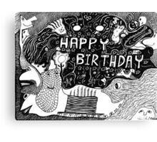 Birthday Celebrations Canvas Print