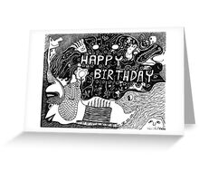 Birthday Celebrations Greeting Card