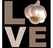 funny Vampire Love Sign Novelty garlic lover Photographic Print