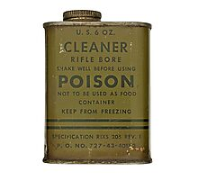 cleaner rifle bore Photographic Print
