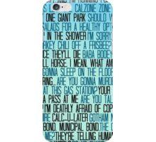 Ben Wyatt - Parks & Rec Quote Set iPhone Case/Skin