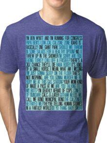 Ben Wyatt - Parks & Rec Quote Set Tri-blend T-Shirt