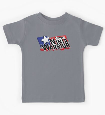 Future Ninja Warrior Kids Tee