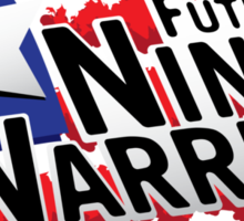 Future Ninja Warrior Sticker