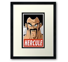 (DRAGON BALL Z) Hercule Framed Print
