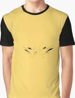 Pokemon Go Team Instinct Zapdos Graphic T-Shirt