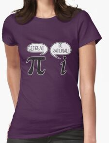 Real Rational Womens Fitted T-Shirt