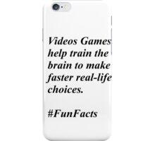 Fun Facts #2 iPhone Case/Skin