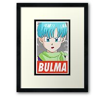 (DRAGON BALL Z) Bulma Framed Print
