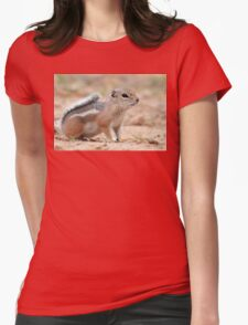 Antelope Ground Squirrel Womens Fitted T-Shirt
