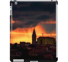 Storm over Vrsar Croatia  iPad Case/Skin
