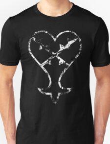 Kingdom Hearts Heartless grunge Unisex T-Shirt