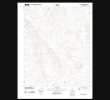 USGS TOPO Map Arizona AZ Red Hill Ranch 20111103 TM Unisex T-Shirt