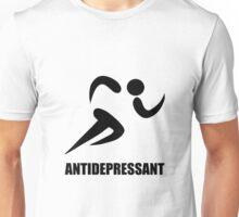 Antidepressant Runner Unisex T-Shirt