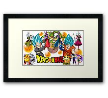 DRAGON BALL SUPER Framed Print