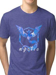 Pokemon Go - Mystic Watercolor Tri-blend T-Shirt