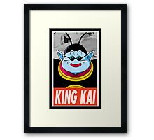 (DRAGON BALL Z) King Kai Framed Print
