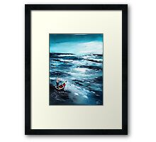 Into unknown Framed Print