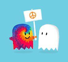 Hippie Ghost by Budi Satria Kwan
