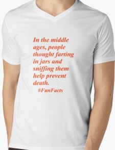 Fun Facts #3 Mens V-Neck T-Shirt