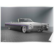 1966 Cadillac Custom Eldorado Convertible Poster
