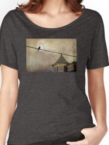 NIGHTFALL AND A CROW Women's Relaxed Fit T-Shirt