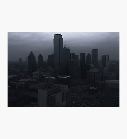 Black Dallas Photographic Print