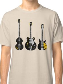 Beatles Guitars Classic T-Shirt