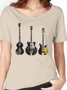 Beatles Guitars Women's Relaxed Fit T-Shirt