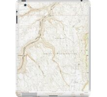 USGS TOPO Map Arizona AZ Bitter Springs 310484 1985 24000 iPad Case/Skin