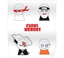 Chibi Heroes Poster