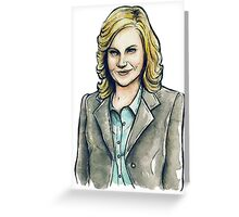 Our Fair Lady - Leslie Knope Greeting Card