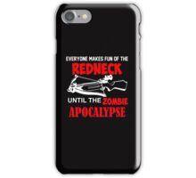 Redneck Zombie  iPhone Case/Skin