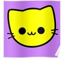 Kawaii Kitty Cats 2048 - tile 4 Poster