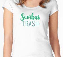 Scorbus Trash - Scorpius and Albus Women's Fitted Scoop T-Shirt