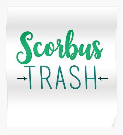 Scorbus Trash - Scorpius and Albus Poster