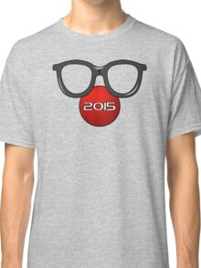 Glasses Face Red Nose Day Classic T-Shirt