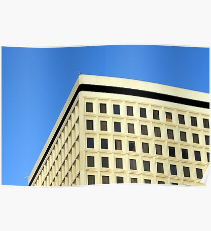 Office Building Poster