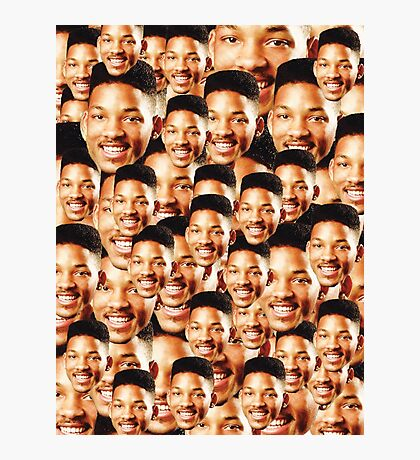 Will Faces Photographic Print