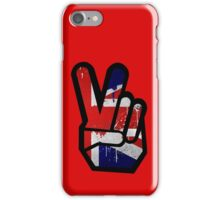 Peace Union Jack iPhone Case/Skin